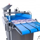Commercial packshot photography of on site packaging machinery