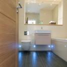 Interiors of exclusive development featuring bathroom