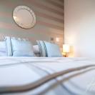 Interiors of exclusive development featuring bedroom