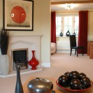 Interiors of exclusive development featuring lounge