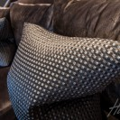 Interiors of exclusive development featuring soft furnishings