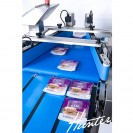 Commercial packshot photography of on site packaging machinery and converters